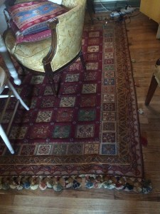 My carpet at home in Harlem.