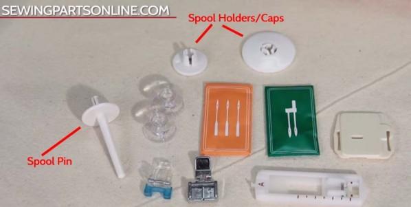 spool pins