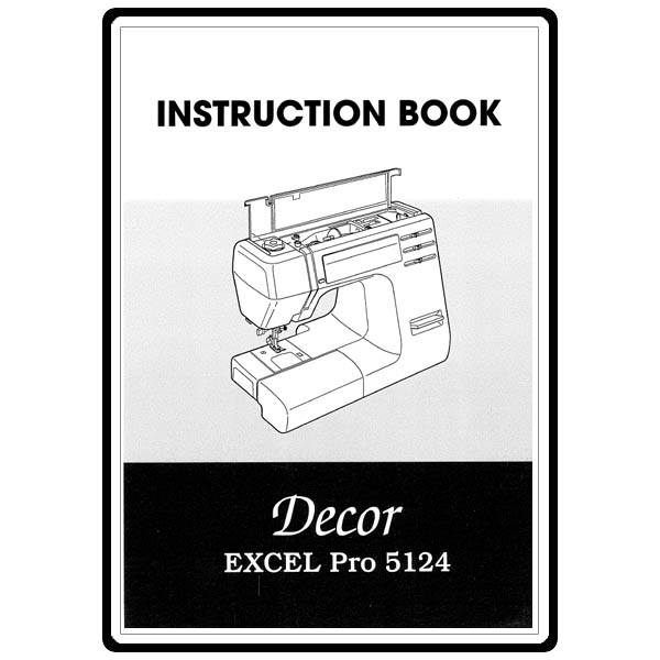 Service Manual Janome Decor Excel Pro 5124