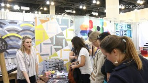 Hoffman Fabrics Me and You Booth Quiltcon