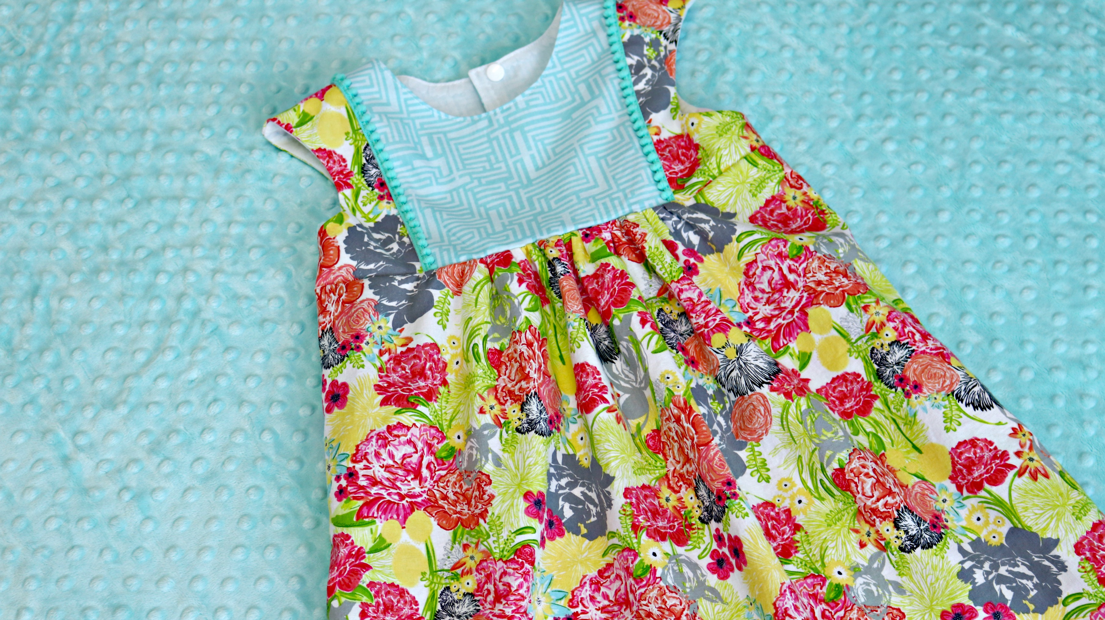 Sewing for kids playgroup dress by fresh stitch patterns fresh stitch patterns playgroup dress modern eclectic by blend fabrics khristian howell front full jeuxipadfo Choice Image