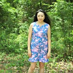 Rebecca Shift Dress by Sis Boom | Lilly Pulitzer Inspired Dress | Handmade Wardrobe
