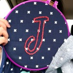 MY ATTEMPT AT HAND EMBROIDERY |  Sewing in the Car