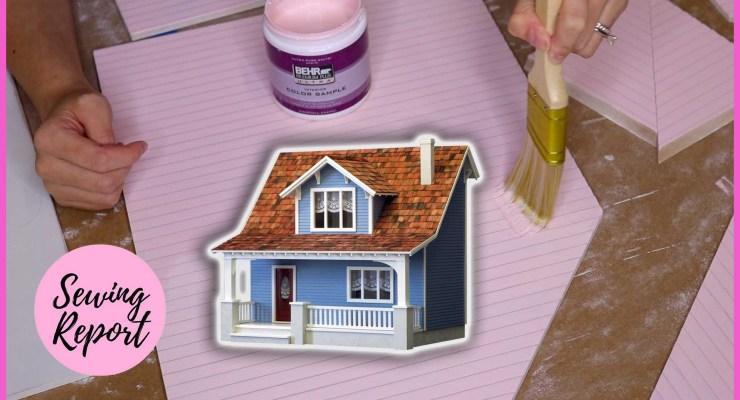 Building a Dollhouse: Sanding + Painting | Beachside Bungalow Kit Episode 3