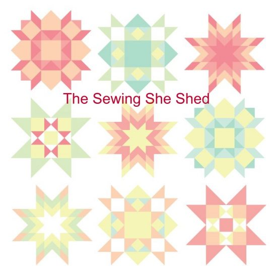 Logo for Sewing She Shed