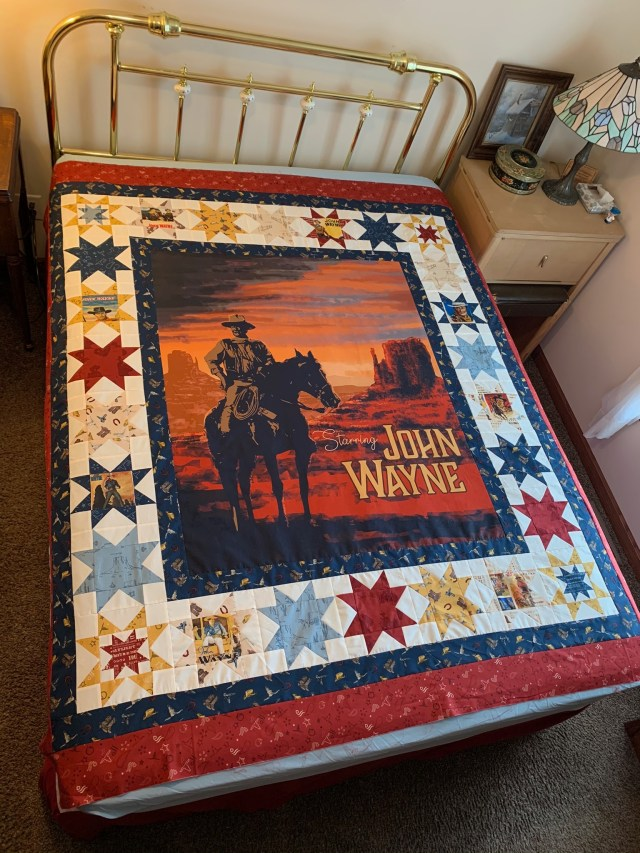 Finish Quilt Top of Riley Blake John Wayne Quilt Kit