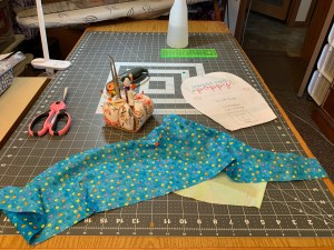 Start with cutting out your fabrics