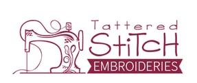 Logo for Tattered Stitch Embroideries