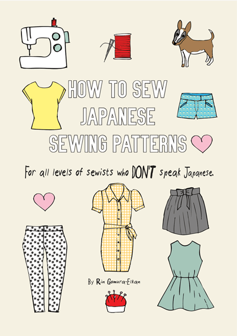 How-to-sew-Japanese-sewing-patterns-Ebook cover