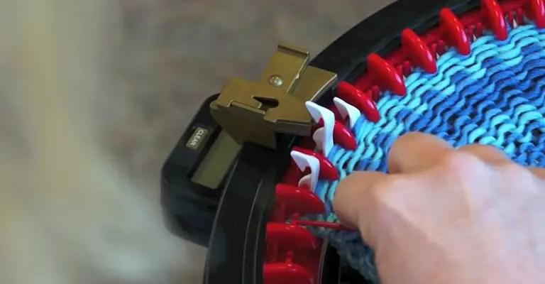 How to use knitting machine 16
