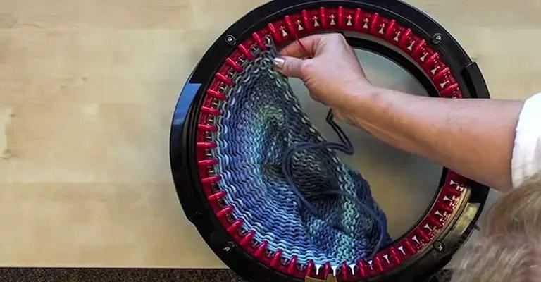 How to use knitting machine 17