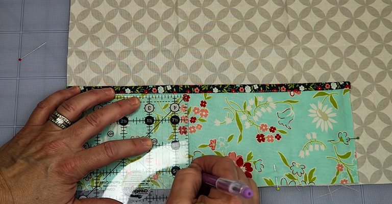 How to Make a Knitting Needle Case 28