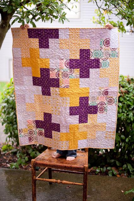 sewkatiedid/cross quilt