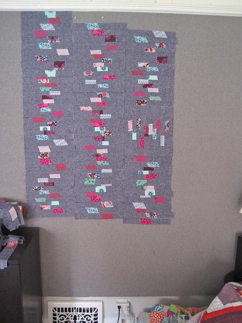 sewkatiedid/strip ease quilt