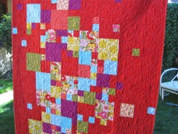 Sewkatiedid/Smitten Kitten Magic number quilt