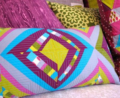 Improvisational Quilting Techniques Pillow Series