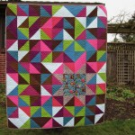 Sewkatiedid:Sleepy Owl Quilt Full