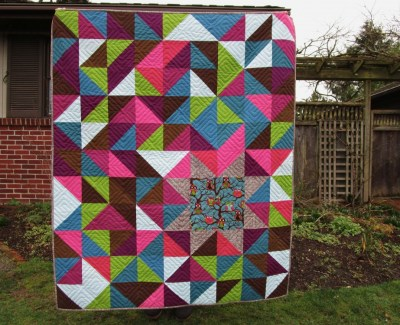 Starry Owl Quilt