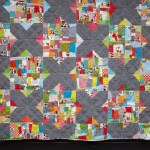SEW KATIE DID | Split Personality Christmas Quilt Section