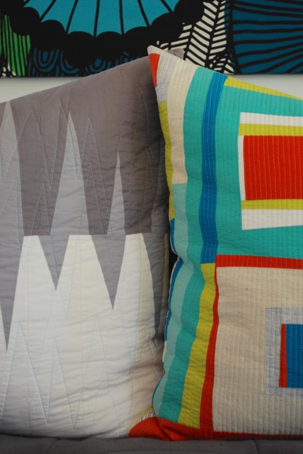 SEW KATIE DID | Improv Patchwork Pillows