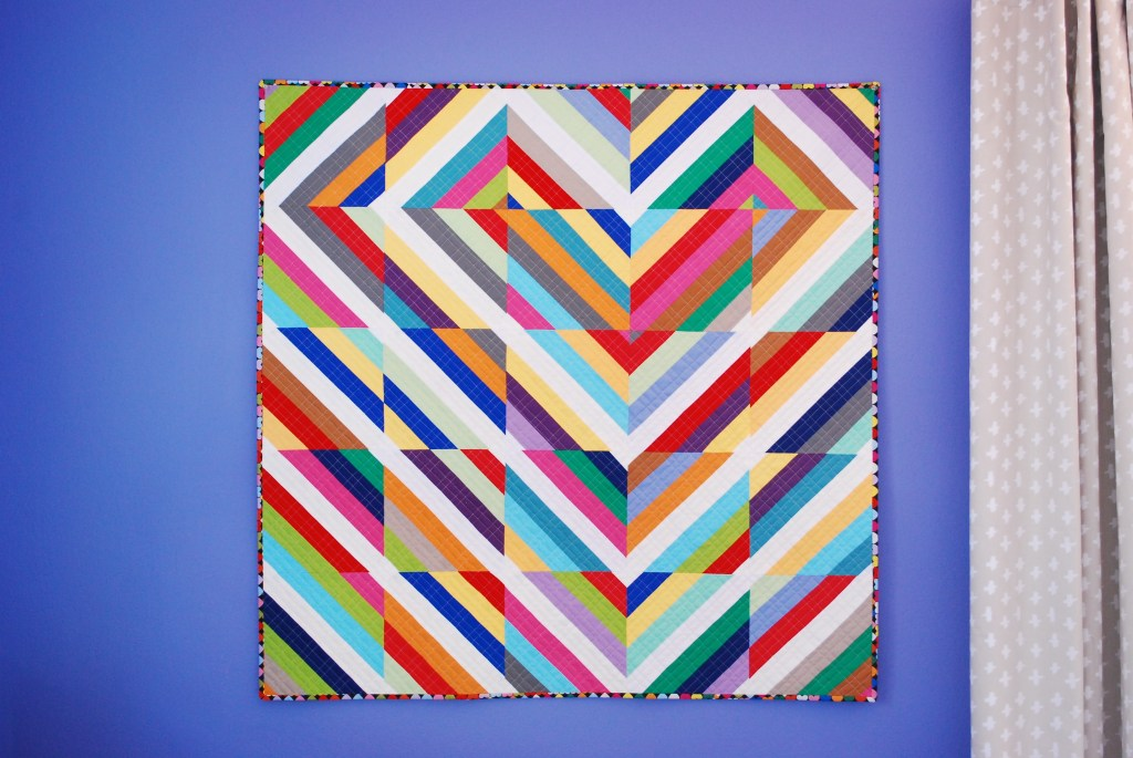sew katie did | Heart Strings Quilt and Tutorial