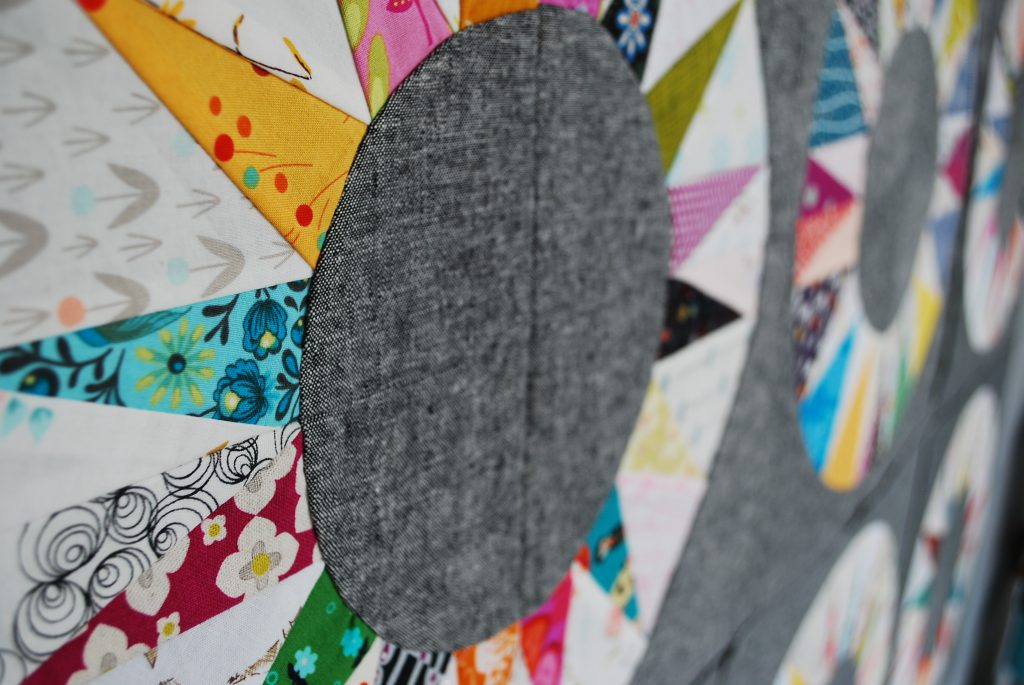 sew katie did   scrappy ny beauty paper pieced block
