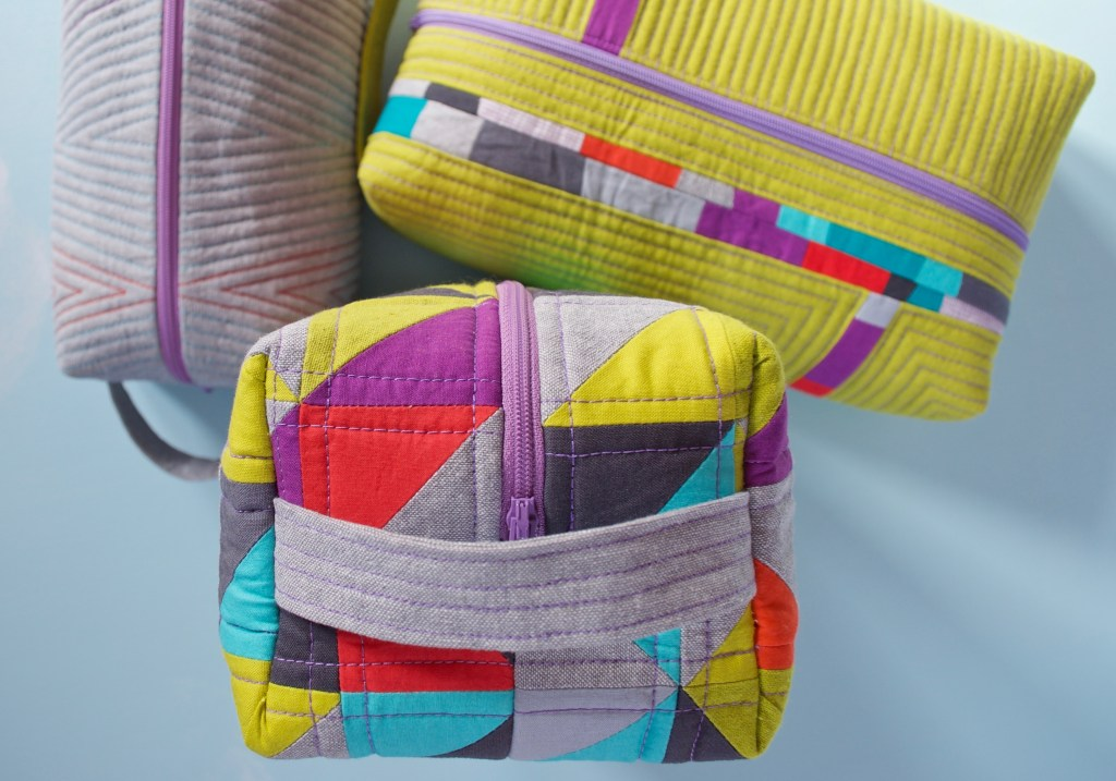 Sew Katie Did | Seattle Modern Quilting and Sewing Studio | Patchwork Box Pouch Workshop