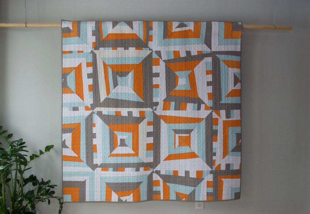 sew katie did   Seattle Modern Quilting and Sewing Studio   Improvisational Strip Piecing Quilt Workshop