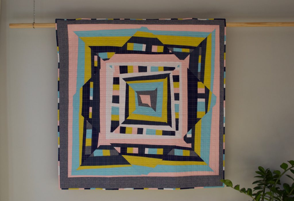 sew katie did | Seattle Modern Quilting 7 Sewing Studio | Full Tilt Quilt