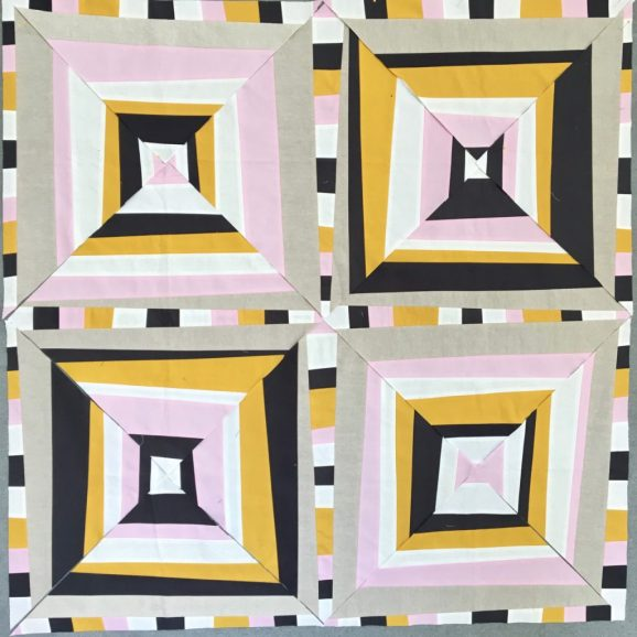 sew katie did | Seattle Modern Quilting and Sewing Studio | Psychedelic Baby Block