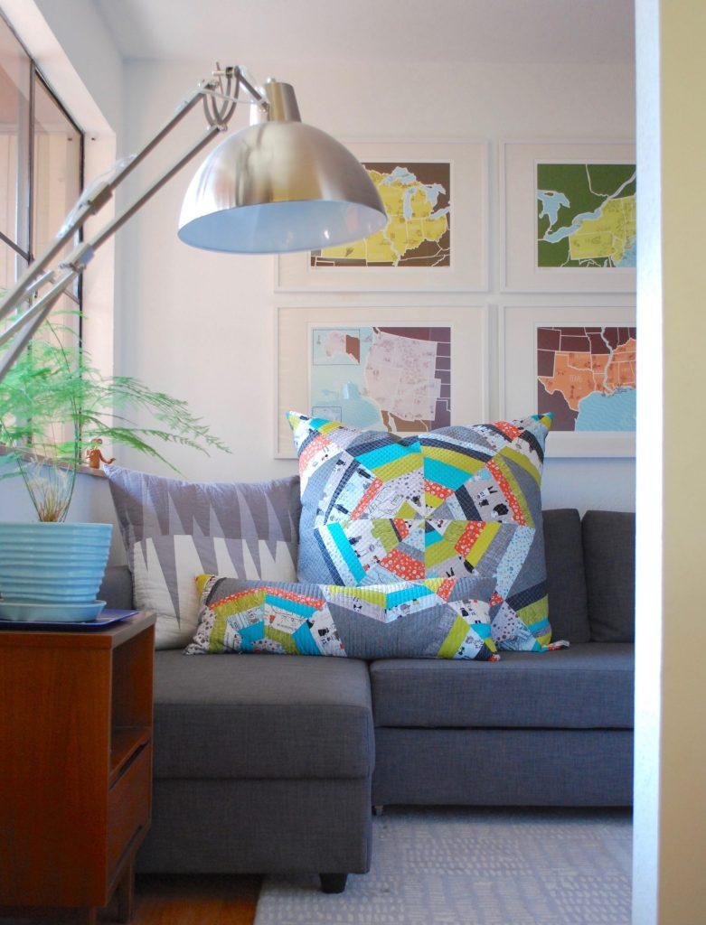 sew katie did   Seattle Modern Quilting & Sewing Studio   Spiderweb Quilt Block