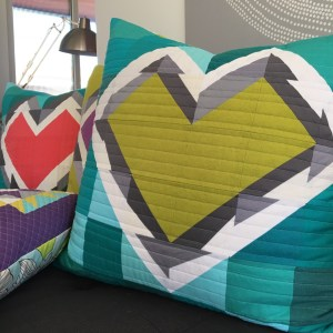 Sew Katie Did | Seattle Modern Quilting & Sewing Studio | Splintered Hearts Quilt Block