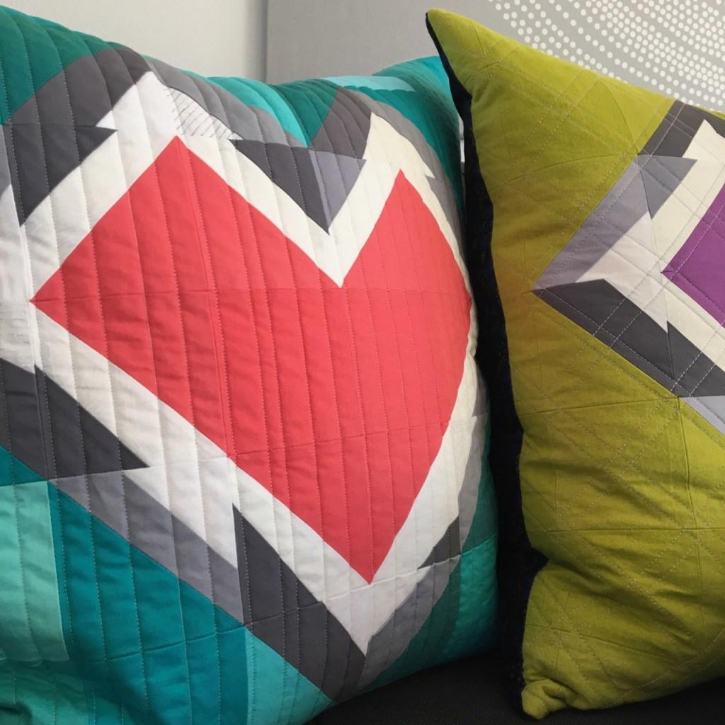 sew katie did | Seattle Modern Quilting & Sewing Studio | Splintered Hearts