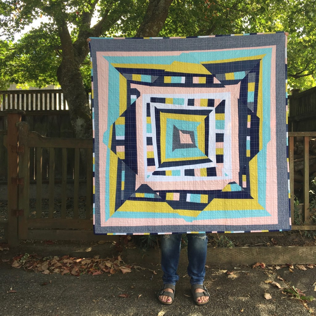 sew katie did | Seattle Modern Quilting & Sewing Studio | Psychedelic Baby Quilt Workshop