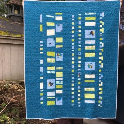 sewkatiedid | Seattle Modern Quilting & Sewing Studio | Modern Quilt 101| Coin Quilt