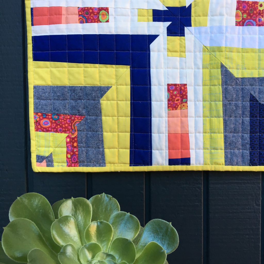Sew Katie Did | Seattle Modern Quilting & Sewing Studio | 'Cue It Up Quilt