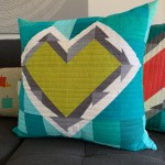 sew katie did | Seattle Modern Quilting & Sewing Studio | Have a Heart Quilt