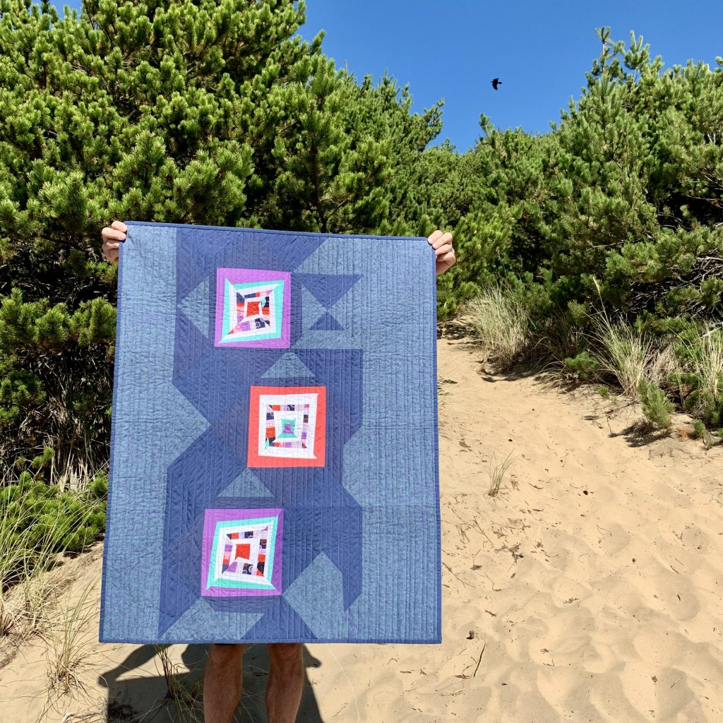 sew Katie did | Seattle Modern Quilting & Sewing Studio | Reoriented Quilt