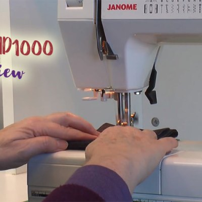 Janome HD1000 review