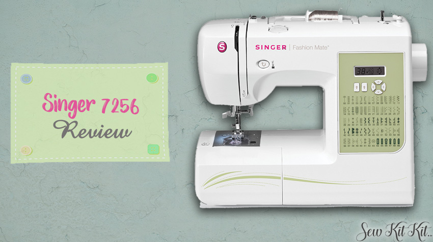 SINGER 7256 review