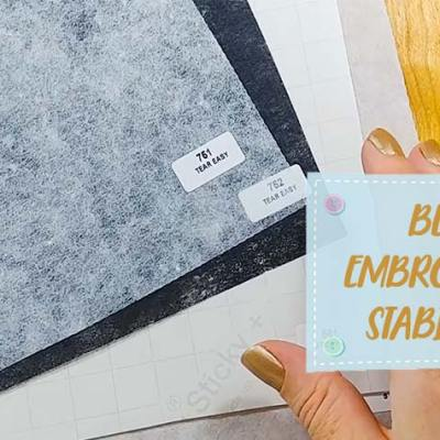 Best Embroidery Stabilizer Buy with Zero Regrets