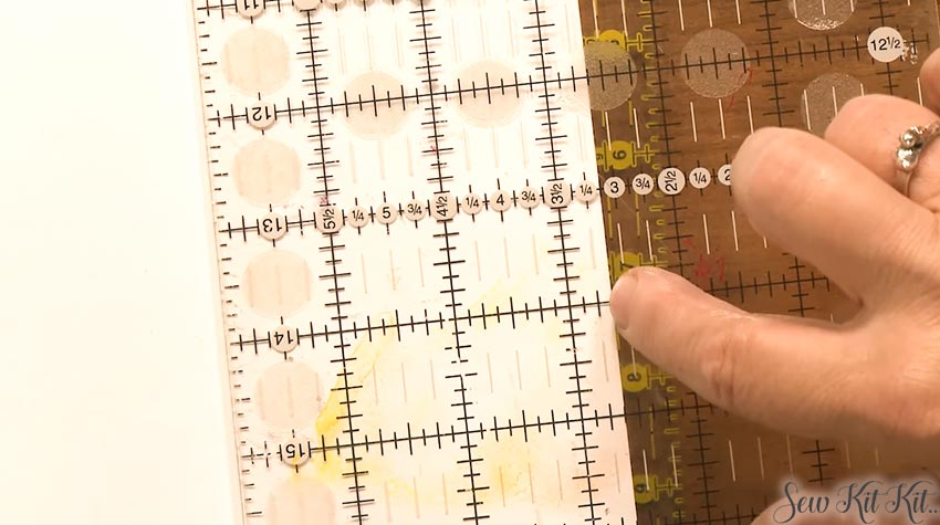 How to Use Quilting Rulers 5