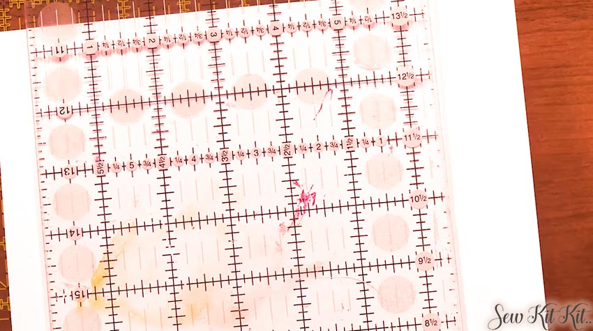How to Use Quilting Rulers 2