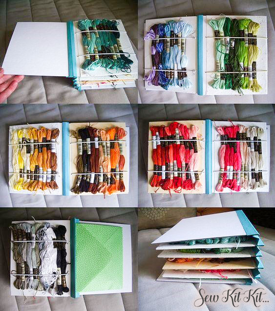 How to store embroidery floss 16