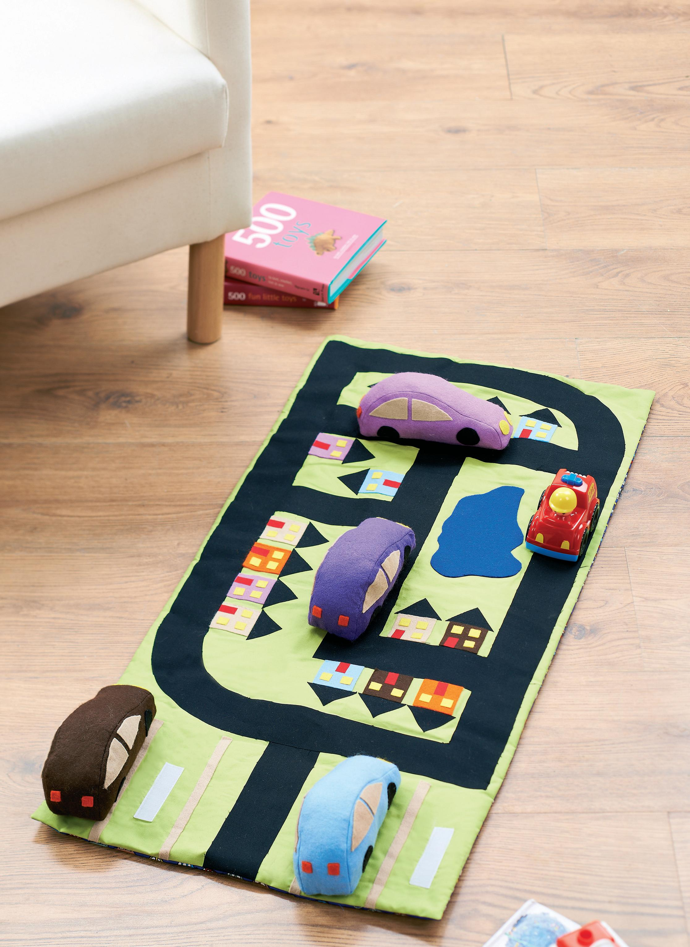 Fabric Car Playmat Free Sewing Patterns Sew Magazine