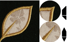 Corner Sewing of Applique