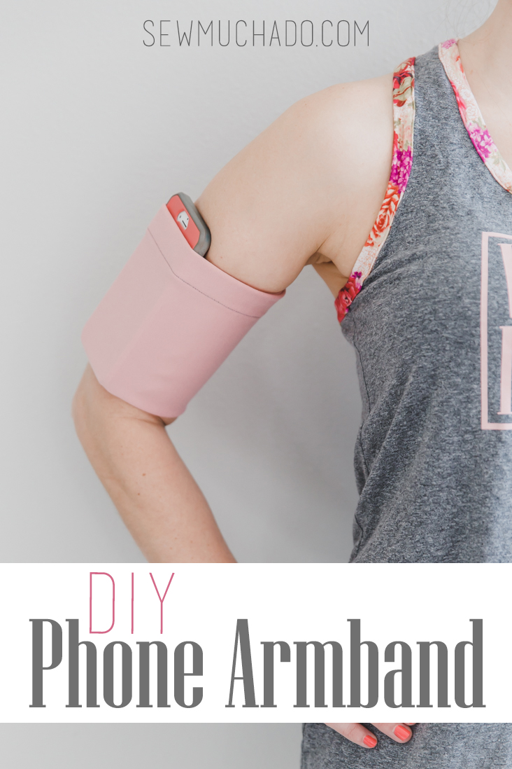 Sewing tutorial: Phone armband