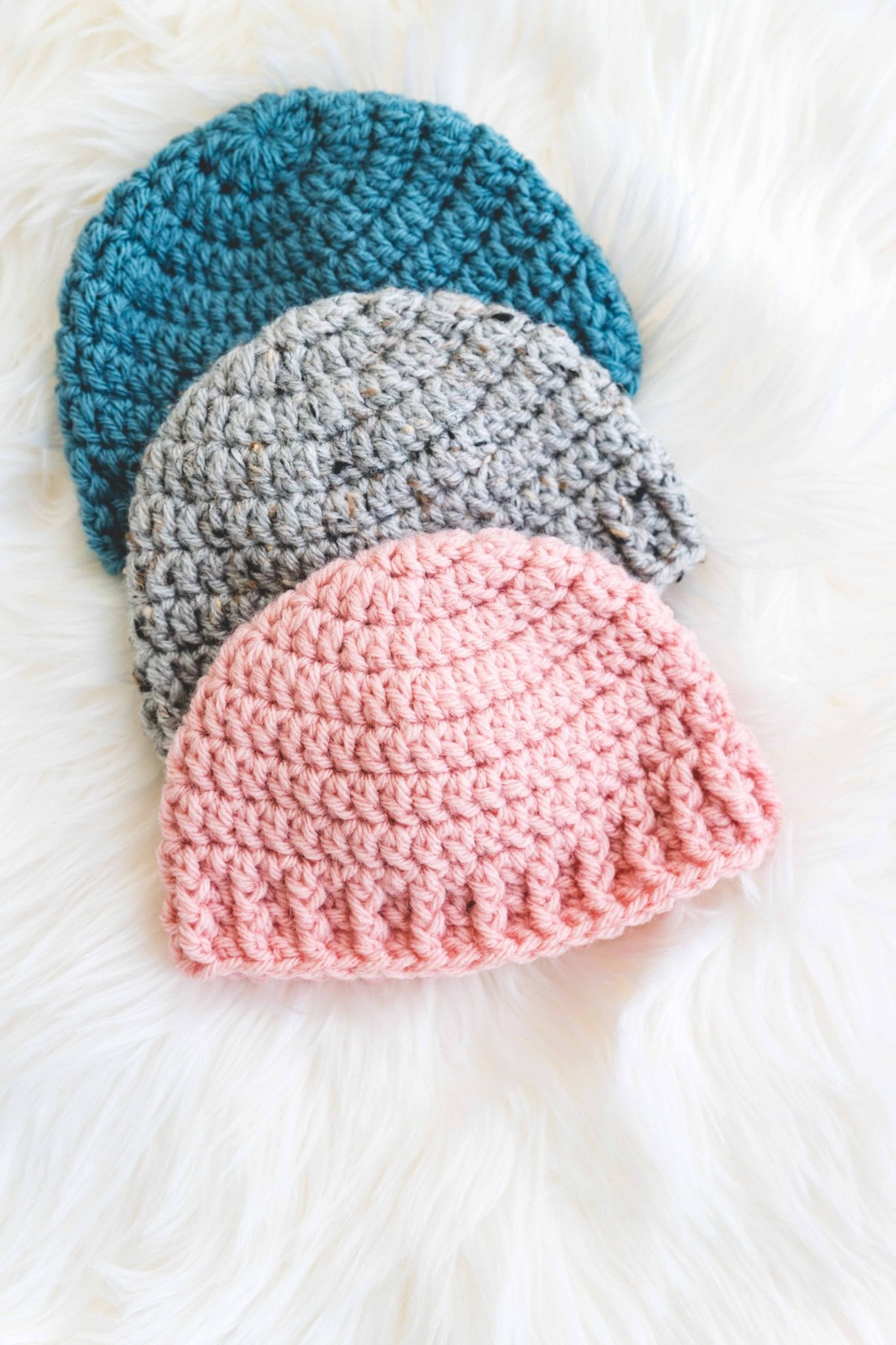 The Parker Crochet Baby Hat Sewrella
