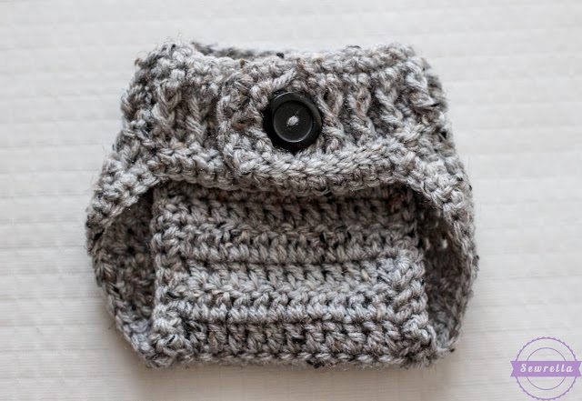 The Parker Crochet Diaper Cover Sewrella