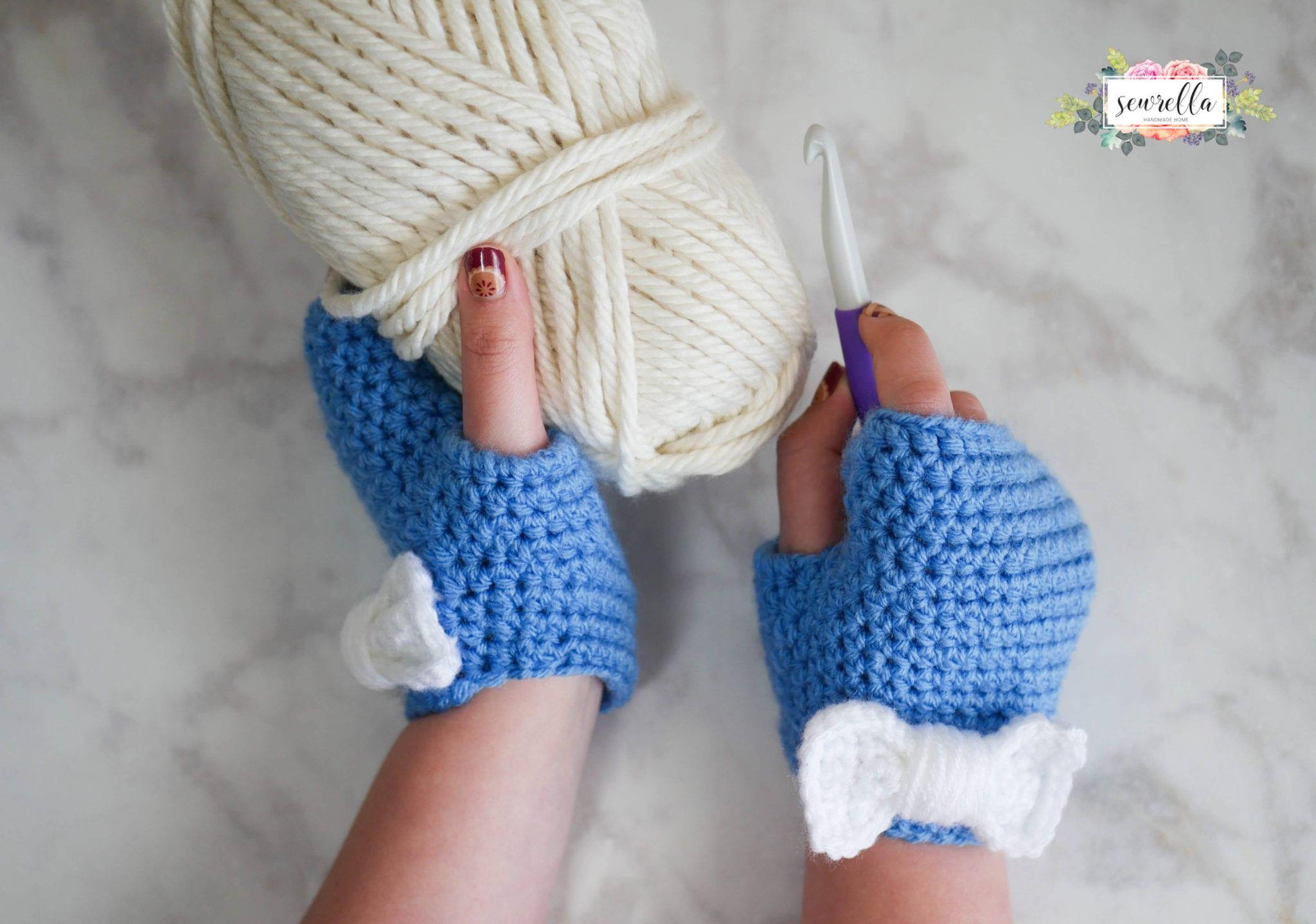 Super Mittens A Yarn Heroes Pattern Sewrella